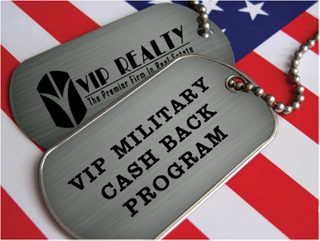 military real estate rebate